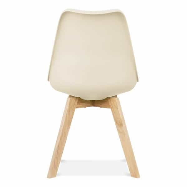 Eames cream dining chair crossed legs design inspired for Design furniture replica ireland