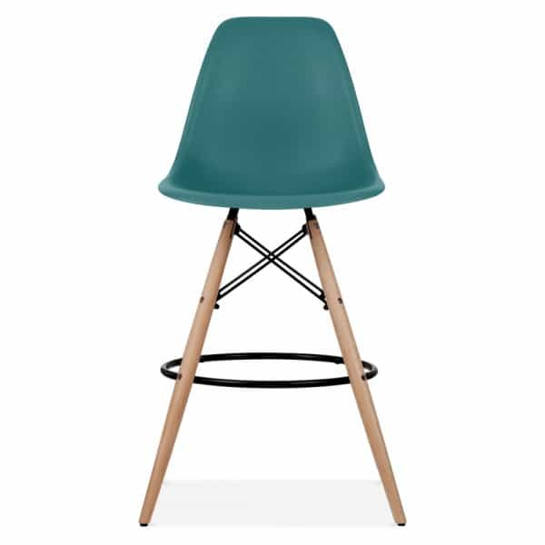 Eames Dsw Stool Teal 710mm Design Inspired By Eames