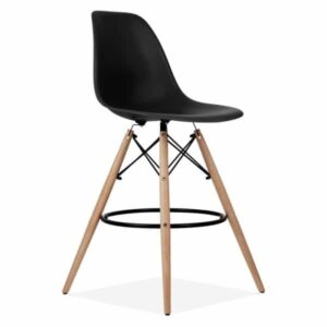 Eames DSW Stool Black 710mm - Inspired by the original