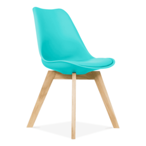 Designer Furniture - Dining Lounge Chairs inspired by Eames Dining, Eames, designer, Turquoise, furniture, chairs