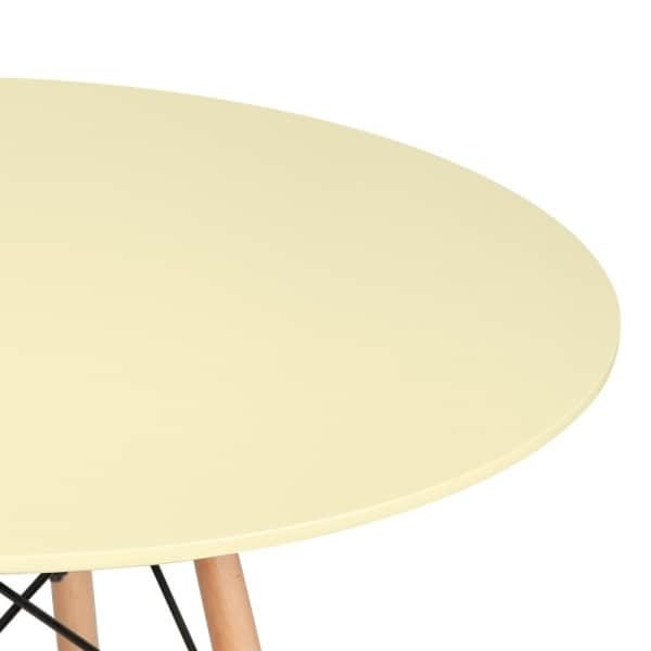 DSW Round Dining Table - Lemon