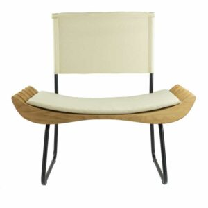 Organique Armchair Gie El Ecru Natural Wood