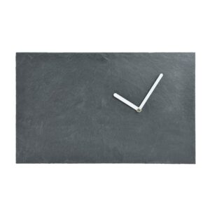 GIE El Slate Wall Clock - White Hands