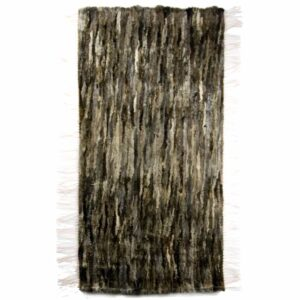 GIE EL 'Recycled' Natural Fur Rug - Melange 60x160cm
