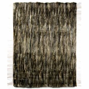 GIE EL 'Recycled' Natural Fur Rug - Melange 100x160cm