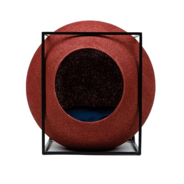 Meyou Paris - Clay Cube, designer furniture for your pet - Hand-Woven Cocoon