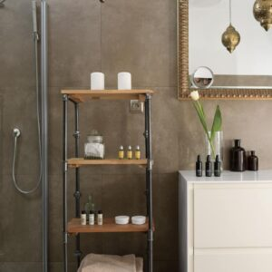 PIPE Bookcase - Shelving Unit / Medium